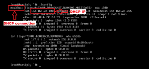 How to configure dhcp internet for Natiply Bootable?